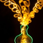 "Nuevo refrán en inglés ""Let the genie out of the bottle"""