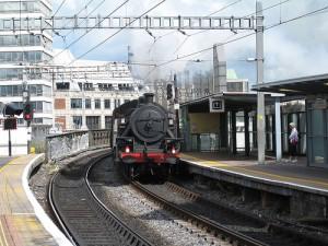 moverse en tren por Irlanda