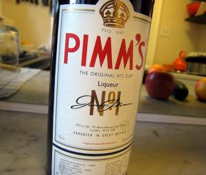 Pimm's, bebida títica inglesa