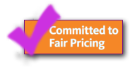 Committed to fair pricing