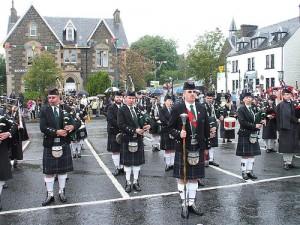 Festival de las gaitas en Glasgow
