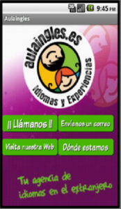 app de aula inglés