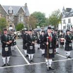 El festival de las gaitas de Glasgow