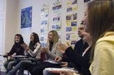 Alumnos en nuestra escuela de Derry