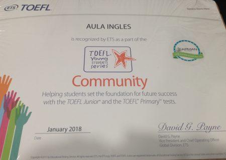 Aulainglés - Toefl Junior y Primary