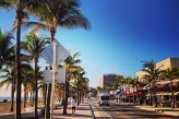 Avenida en Fort Lauderdale