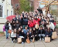 Grupo de alumnos en Southampton