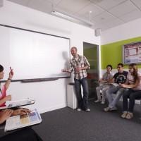 Nuestros alumnos en clase