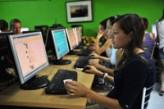 Sala de ordenadores en Malta