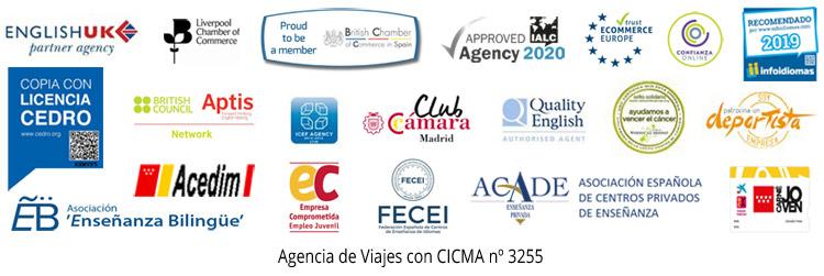 Acreditaciones y certificaciones Aula inglés