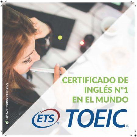 certificado de inglés TOEIC