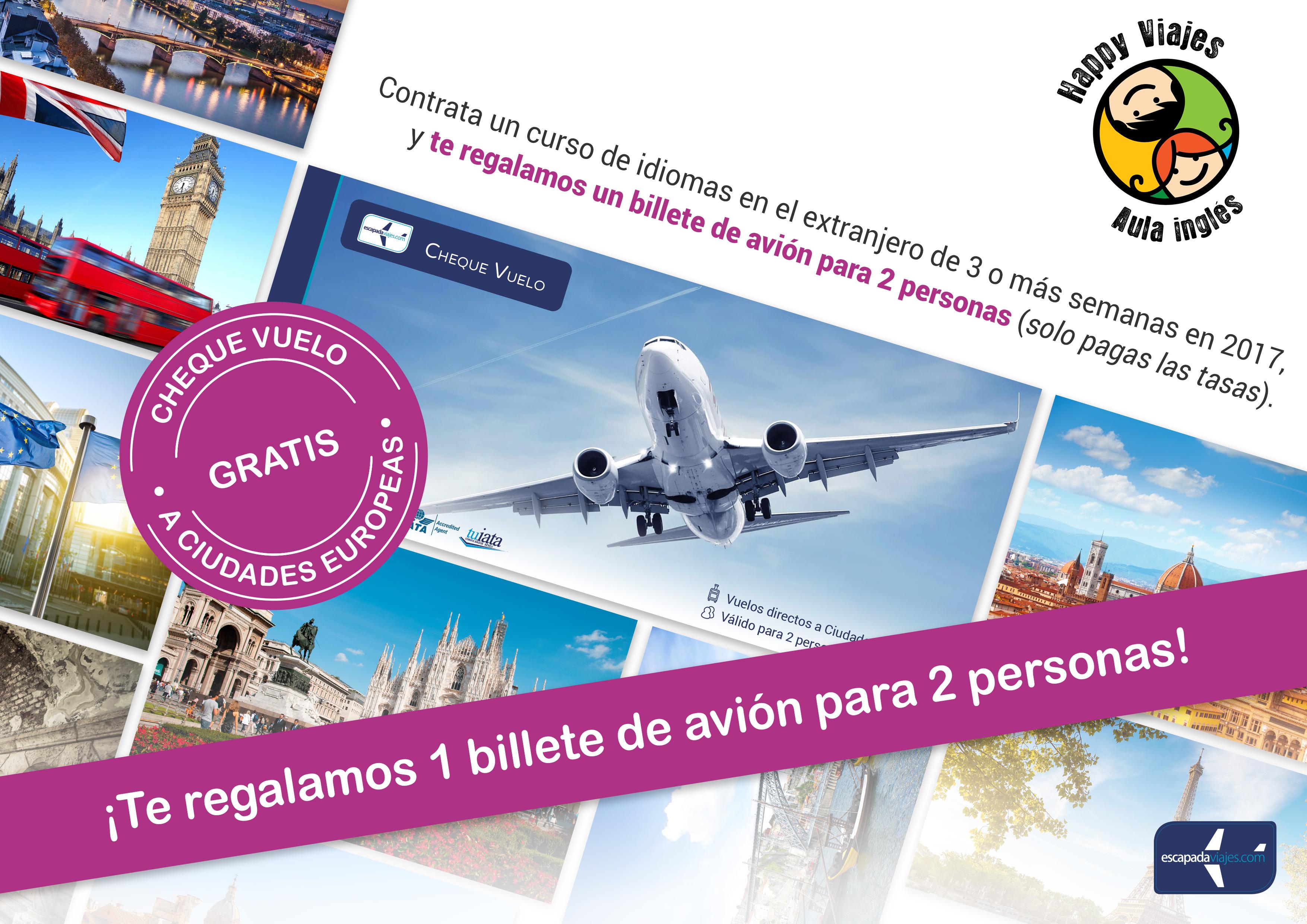 Cheque vuelo gratis