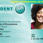 ISIC: El carné internacional de estudiante