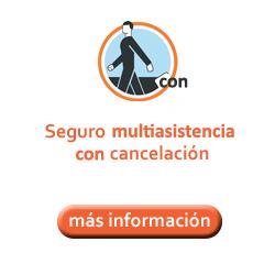 Seguro multiasistencia con cancelación