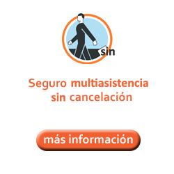 seguro multiasistencia sin cancelación